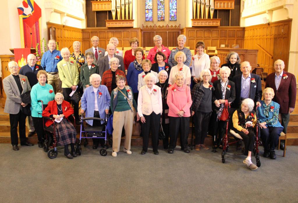 50-60 year member celebration